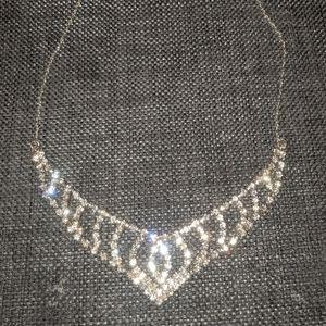 Princess statement necklace